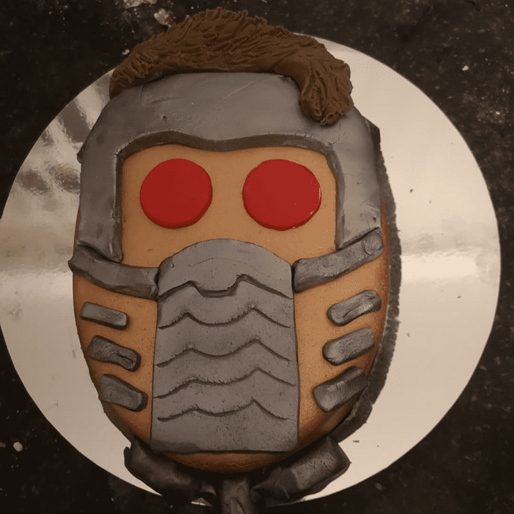 Comely Star Lord Cake