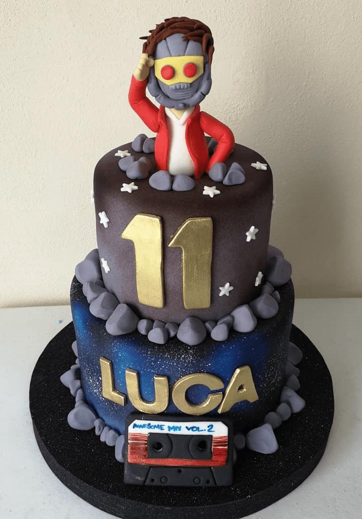 Cute Star Lord Cake