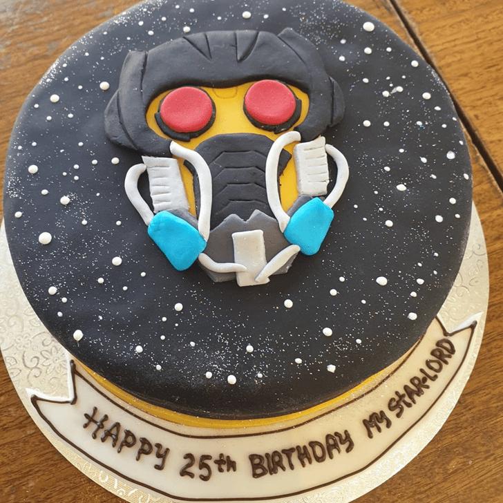 Delightful Star Lord Cake