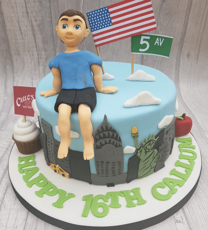 Fetching Statue of Liberty Cake