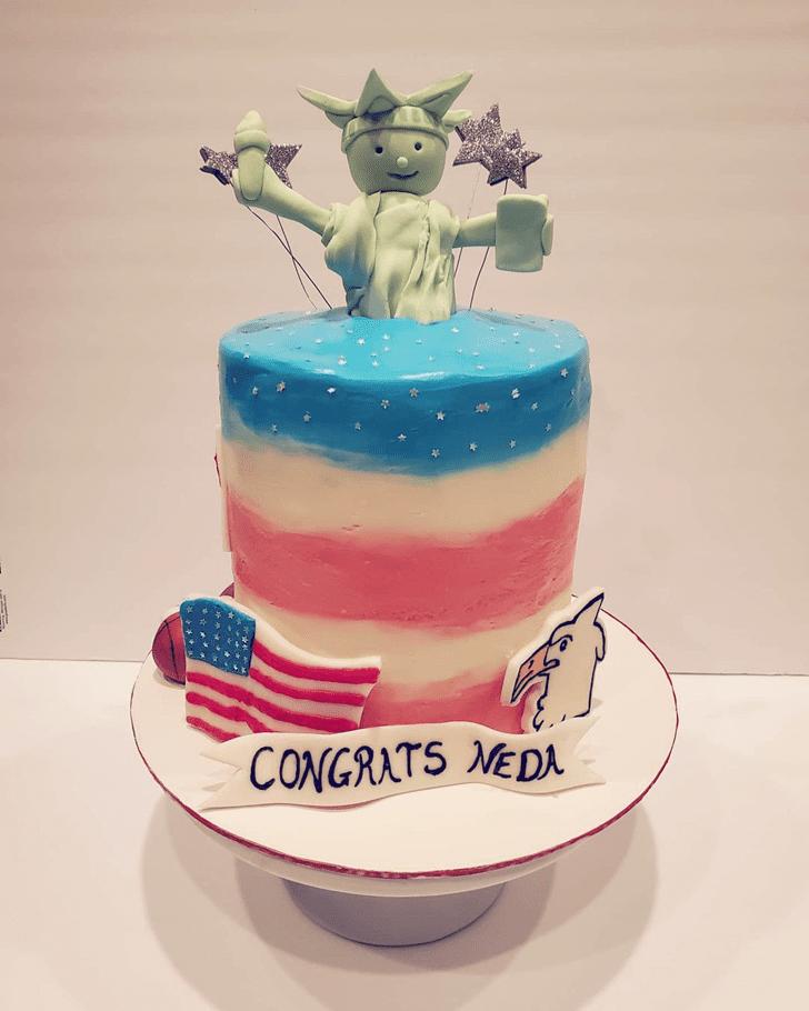 Grand Statue of Liberty Cake