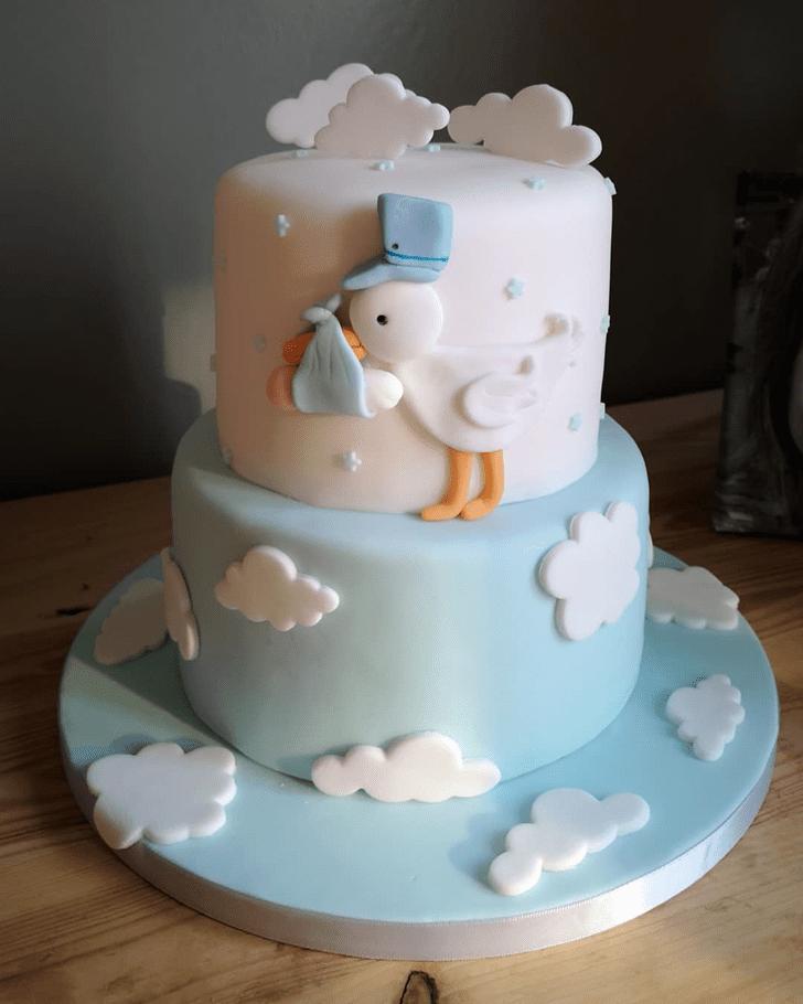 Captivating Stork Cake