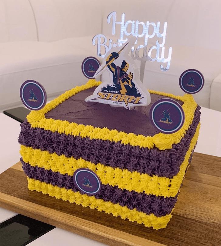Alluring Storm Cake