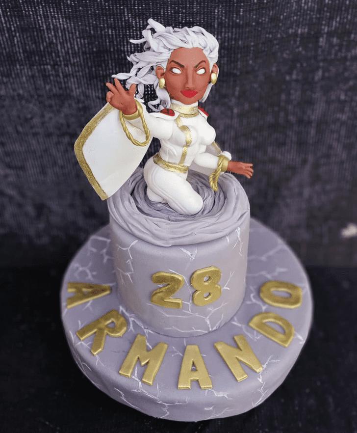 Captivating Storm Cake
