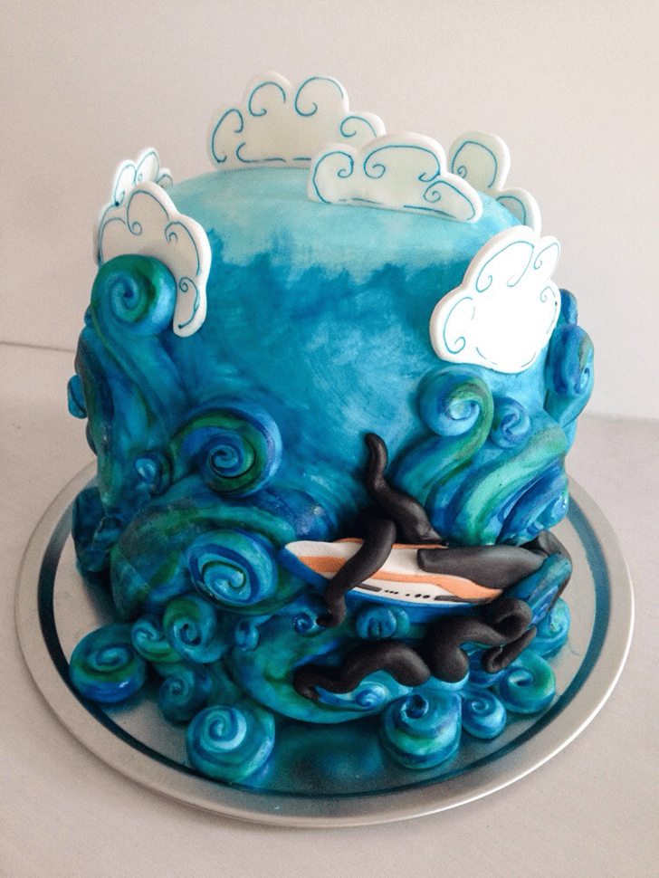 Charming Storm Cake