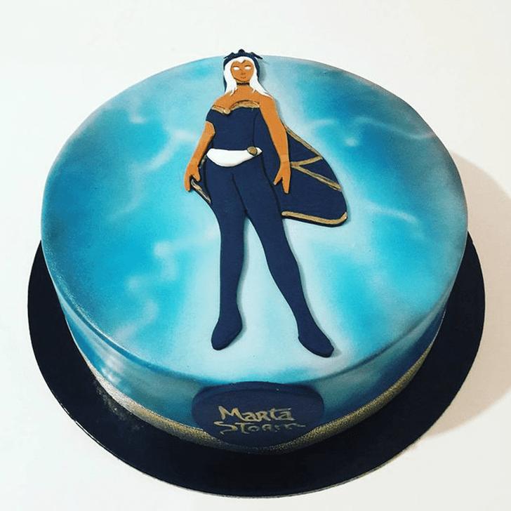 Classy Storm Cake