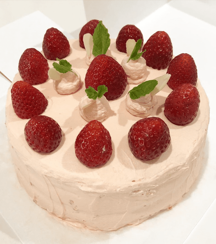 Adorable Strawberry Cake