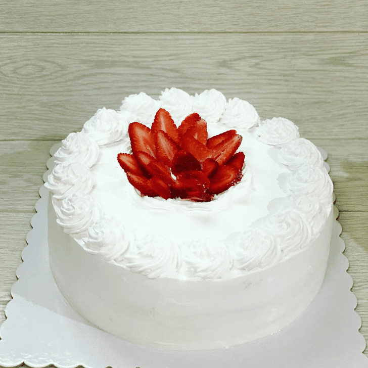 Angelic Strawberry Cake