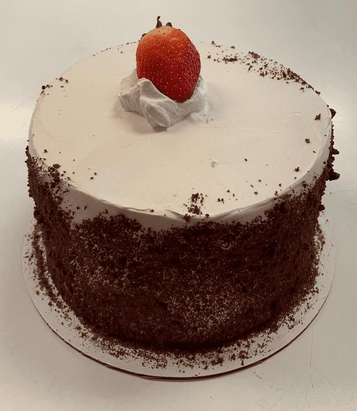 Divine Strawberry Cake