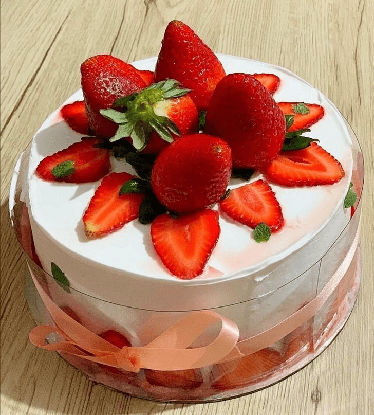 Excellent Strawberry Cake