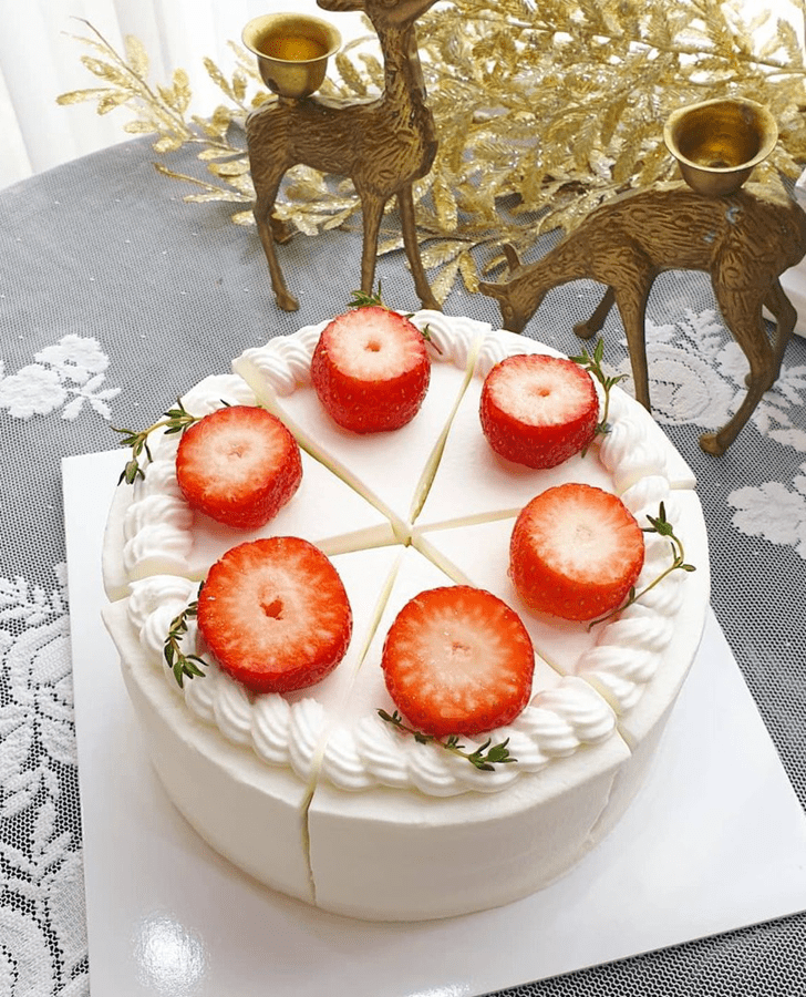 Magnetic Strawberry Cake