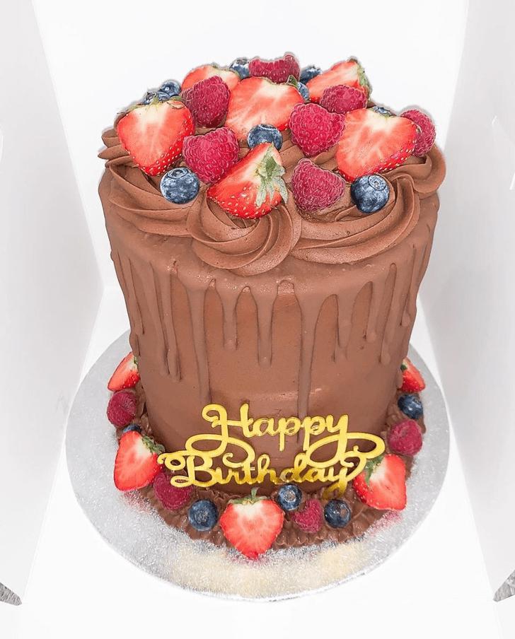 Wonderful Strawberry Cake Design