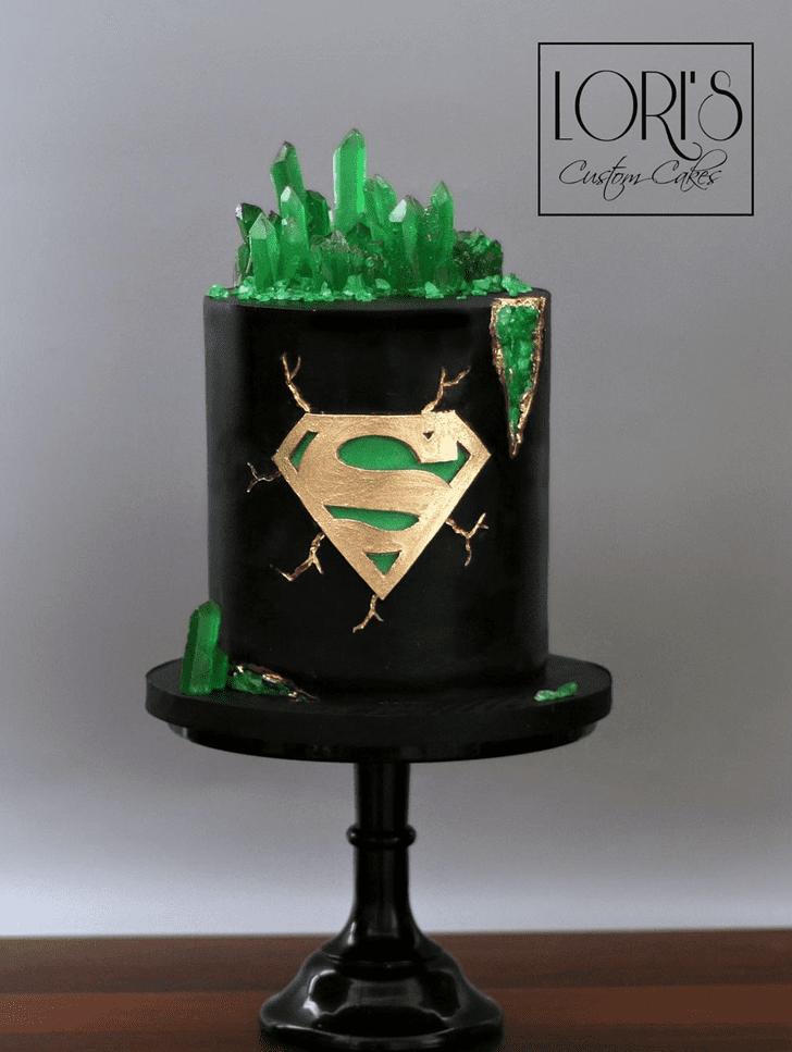 Adorable Superman Cake