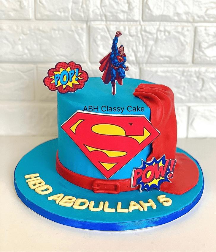 Angelic Superman Cake