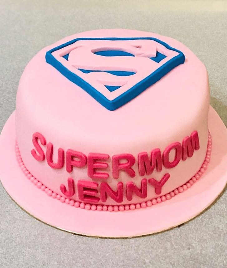 Appealing Supermom Cake