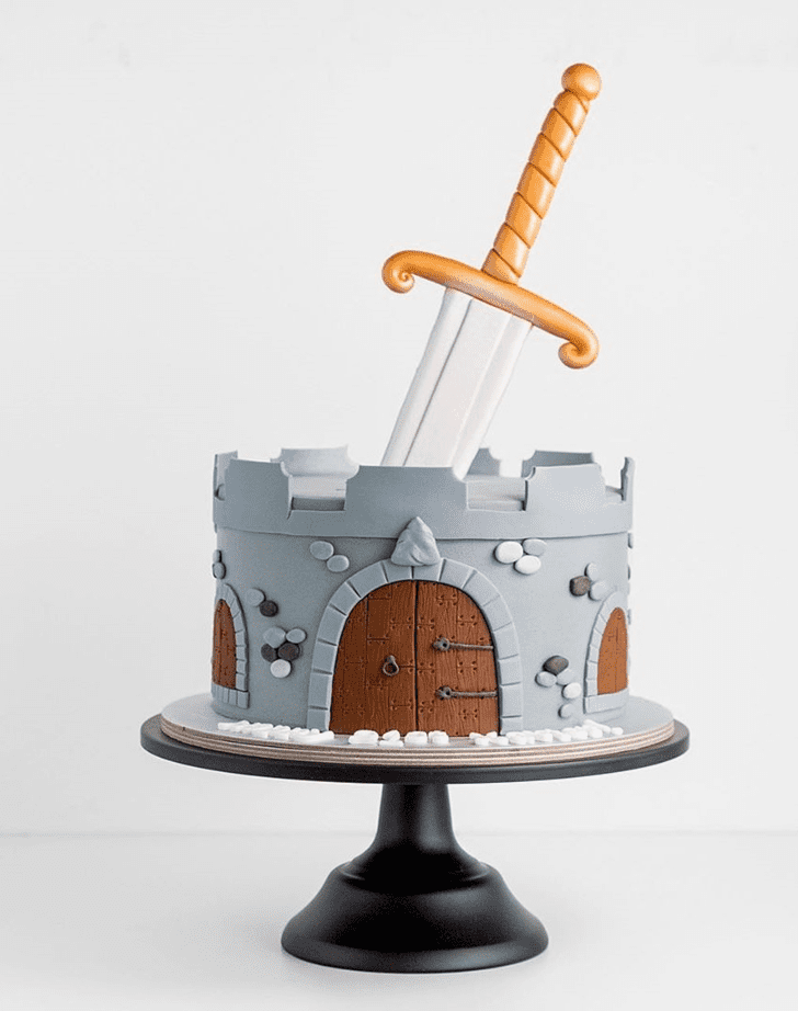 Divine The Sword in the Stone Cake