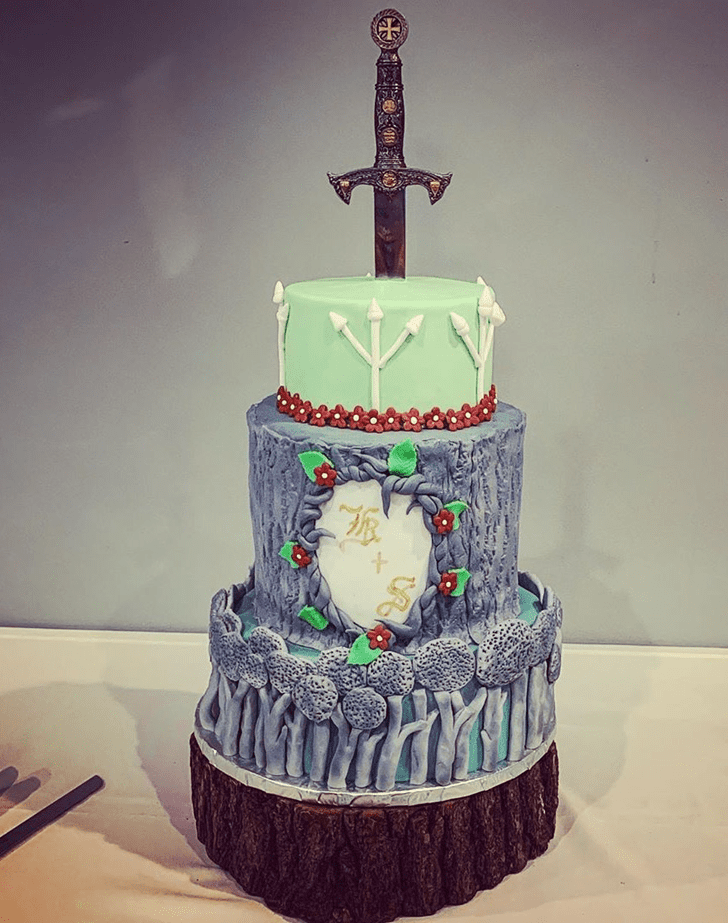 Excellent The Sword in the Stone Cake