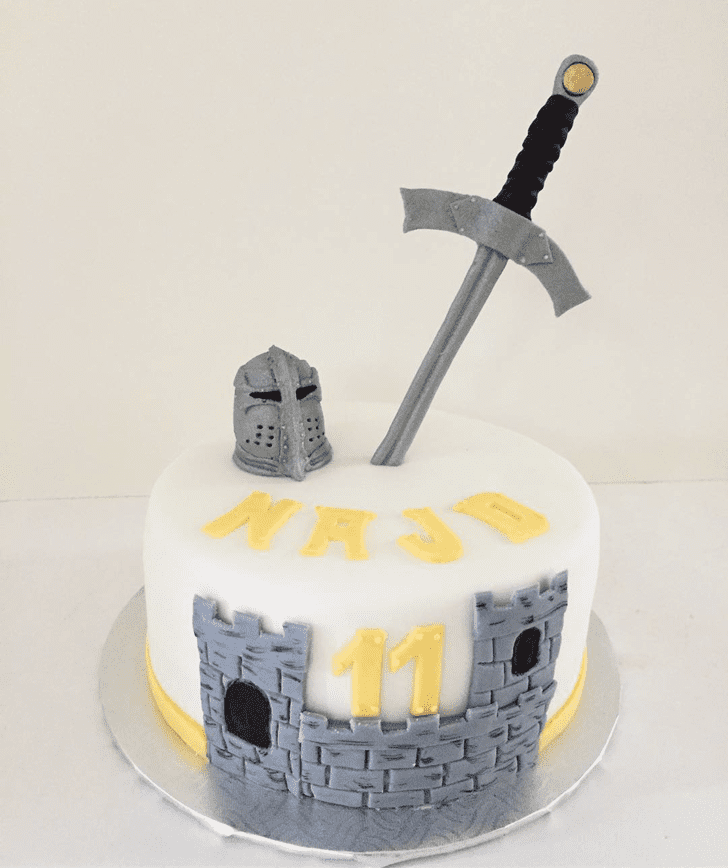Graceful The Sword in the Stone Cake