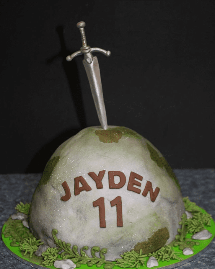 Marvelous The Sword in the Stone Cake