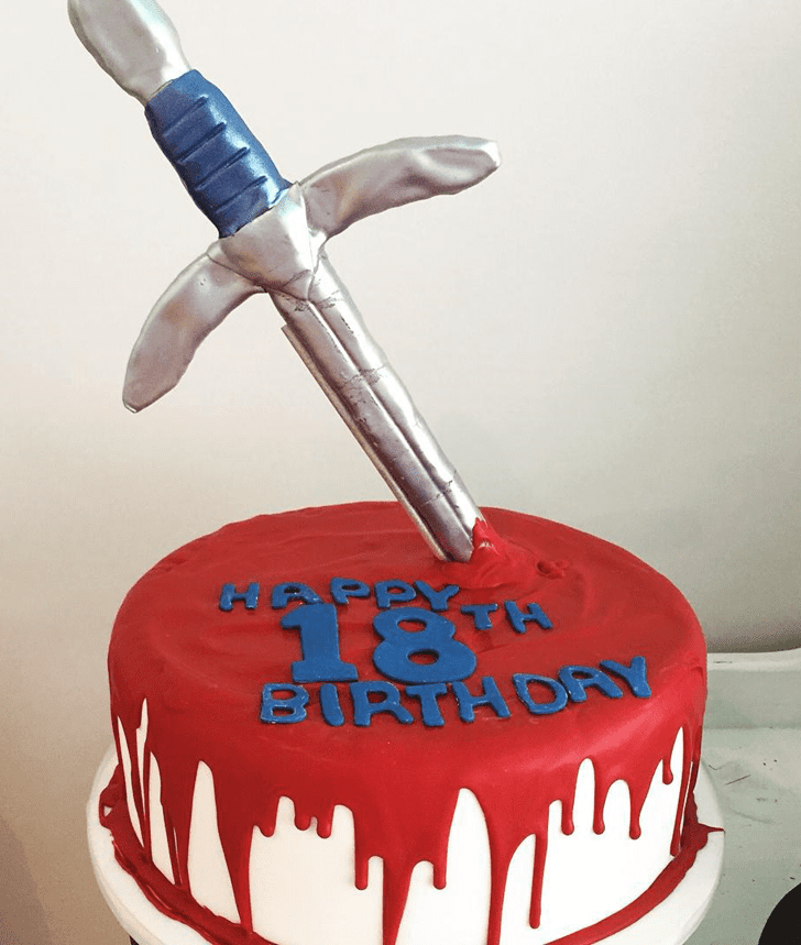 Radiant The Sword in the Stone Cake