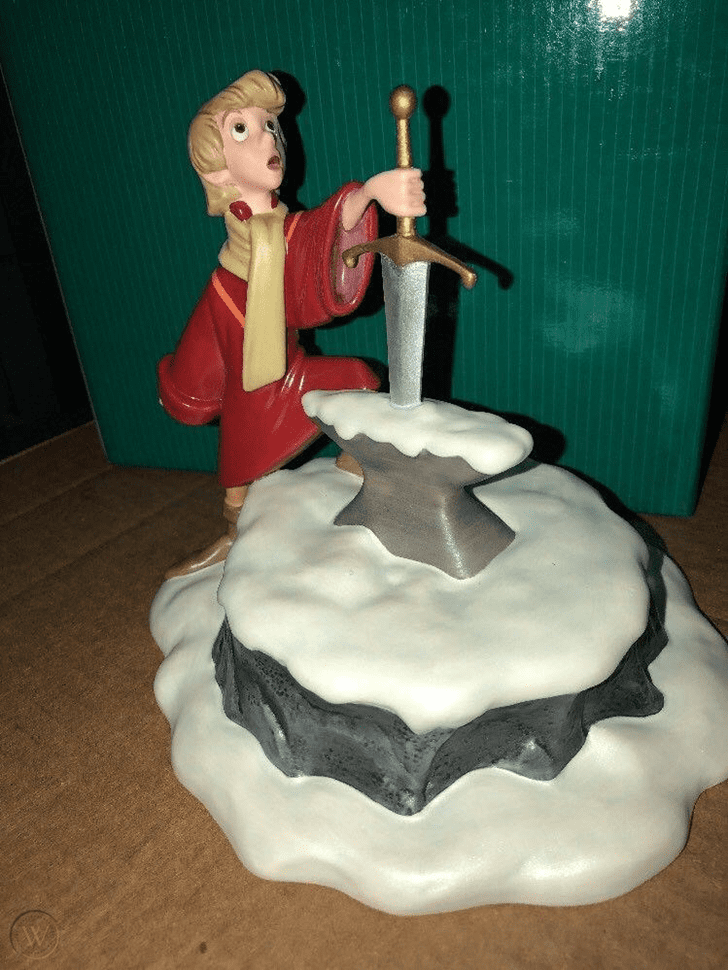 Superb The Sword in the Stone Cake