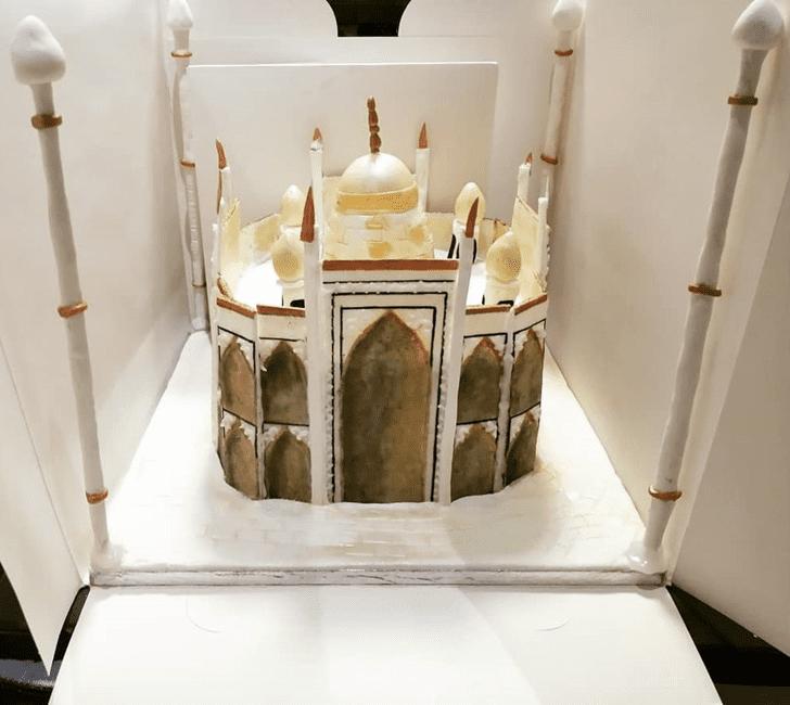 Admirable Taj Mahal Cake Design