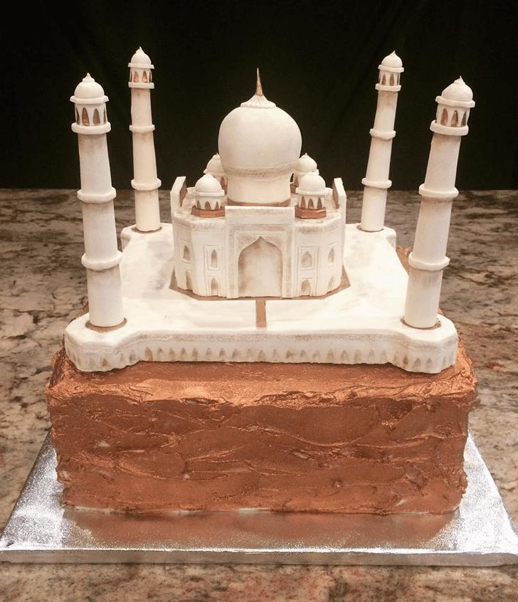 Angelic Taj Mahal Cake