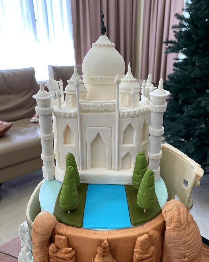 Captivating Taj Mahal Cake