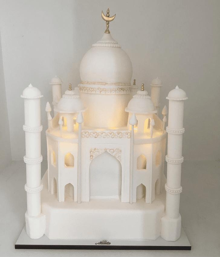 Charming Taj Mahal Cake