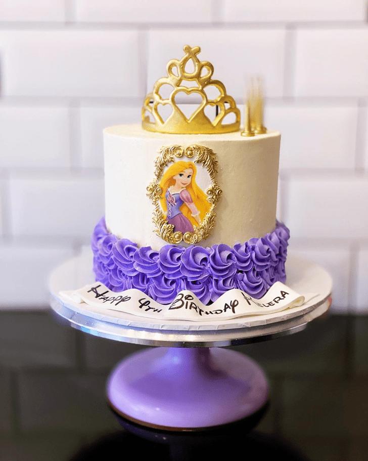 Bewitching Tangled Cake