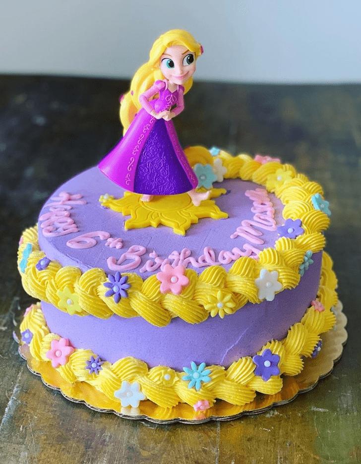 Charming Tangled Cake