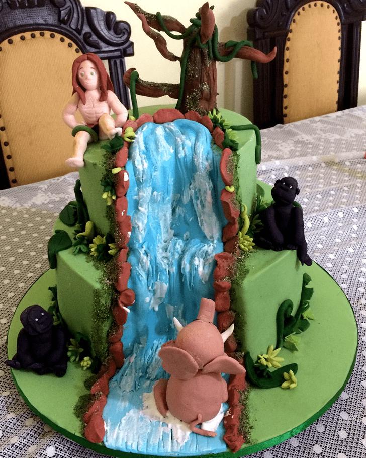 Admirable Tarzan Cake Design