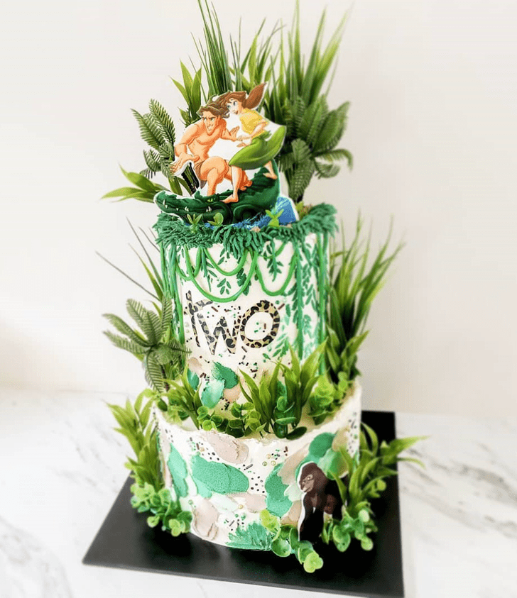Beauteous Tarzan Cake
