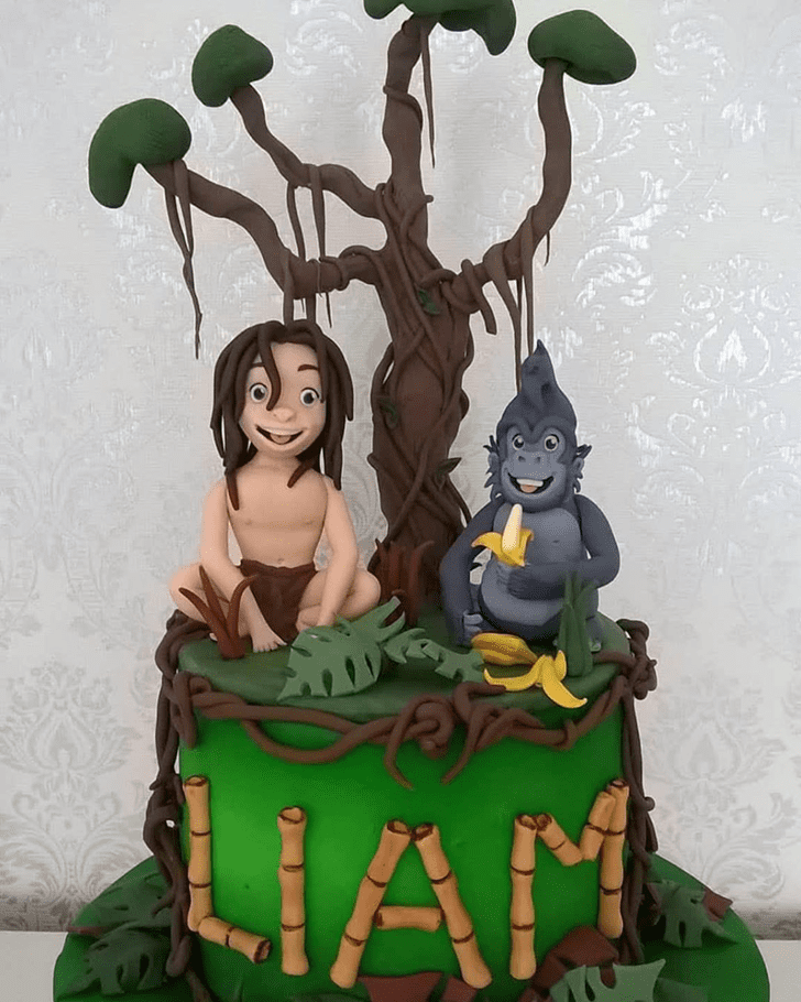Bewitching Tarzan Cake