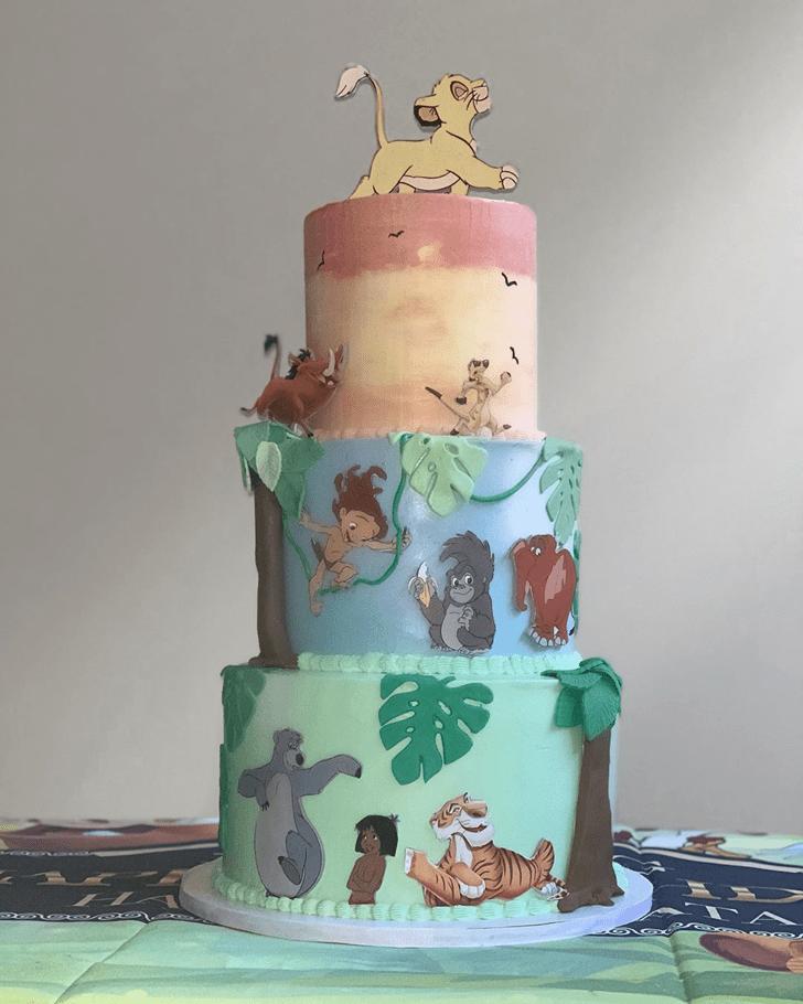 Classy Tarzan Cake
