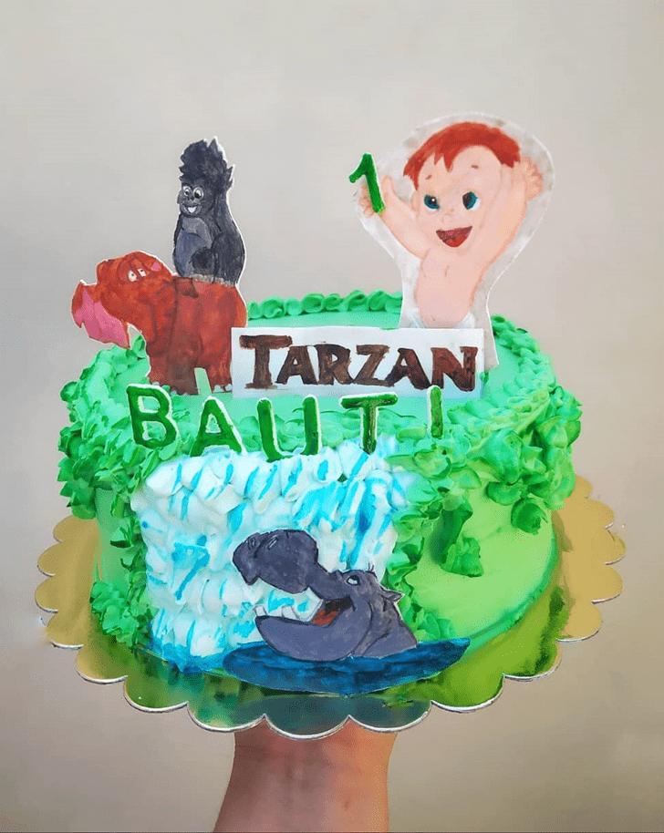Cute Tarzan Cake