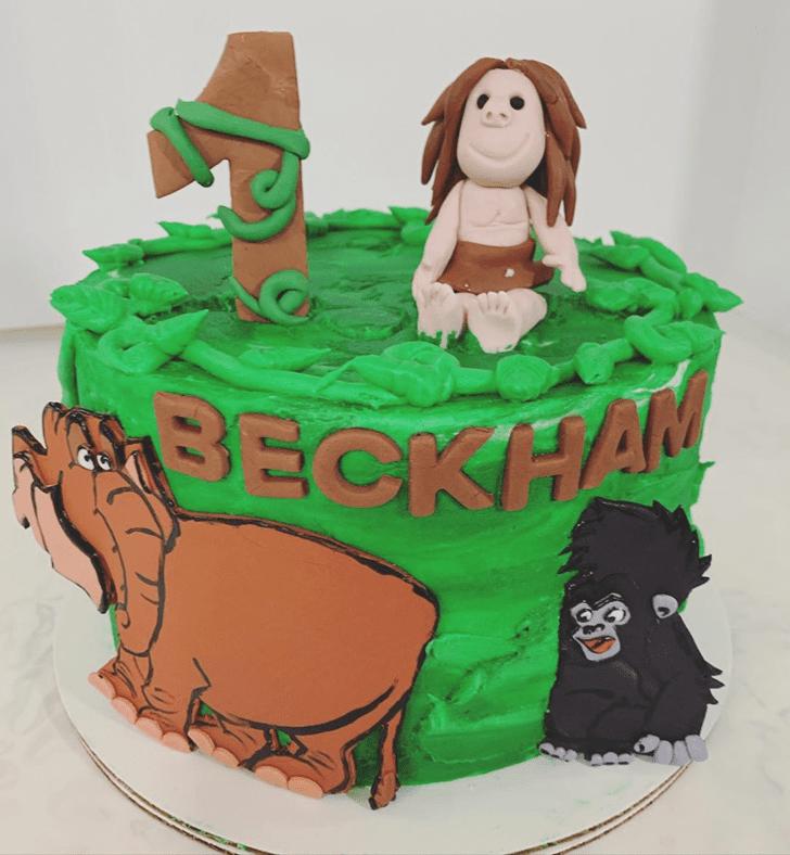 Delightful Tarzan Cake