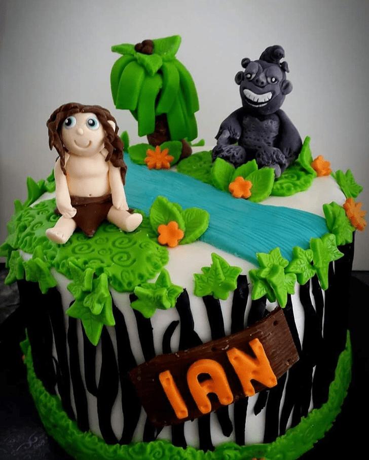 Divine Tarzan Cake