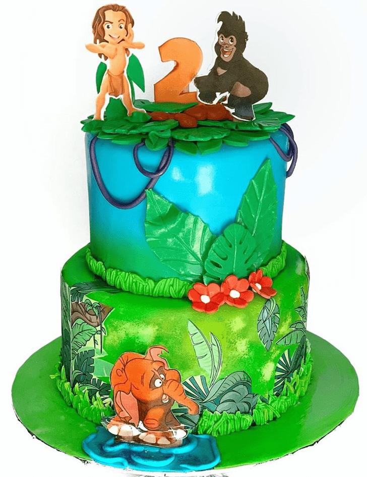 Fetching Tarzan Cake