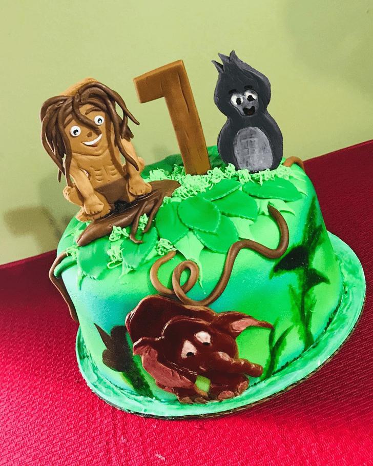Graceful Tarzan Cake