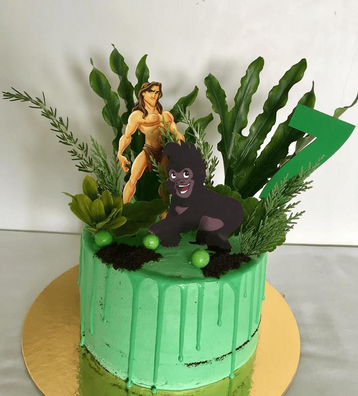 Handsome Tarzan Cake