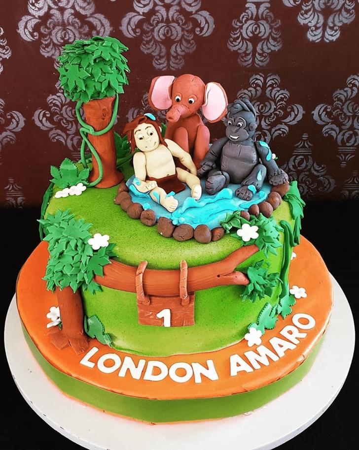 Inviting Tarzan Cake