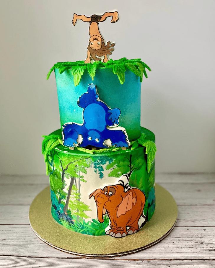 Pleasing Tarzan Cake