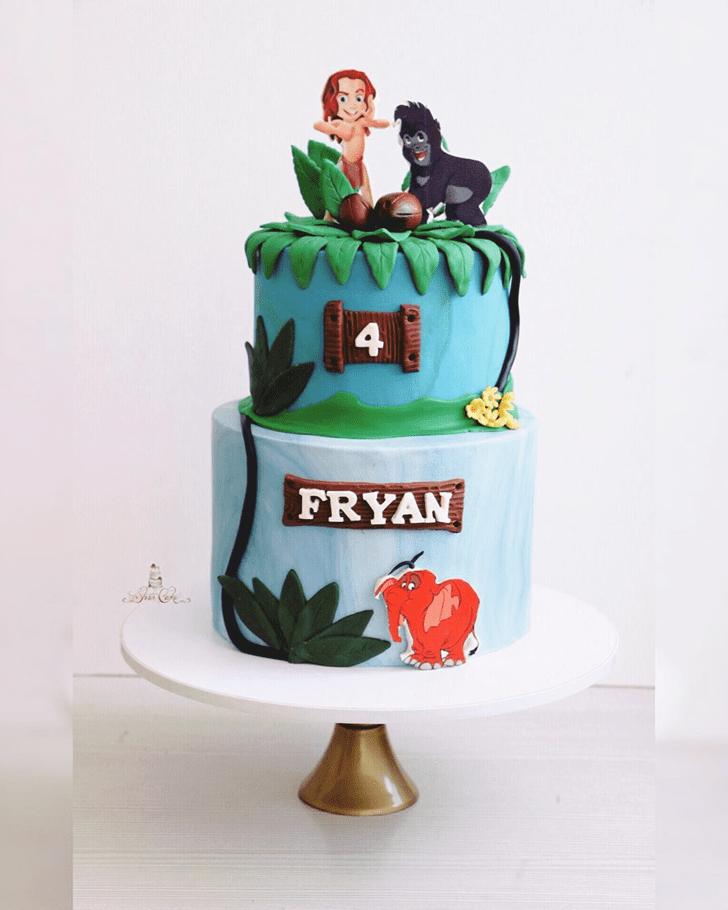 Radiant Tarzan Cake