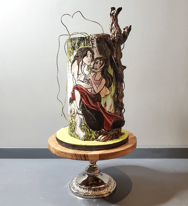 Resplendent Tarzan Cake