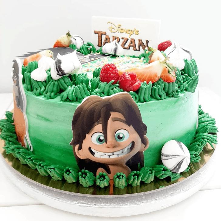 Superb Tarzan Cake