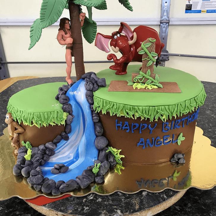Wonderful Tarzan Cake Design