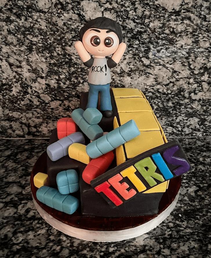 Comely Tetris Cake