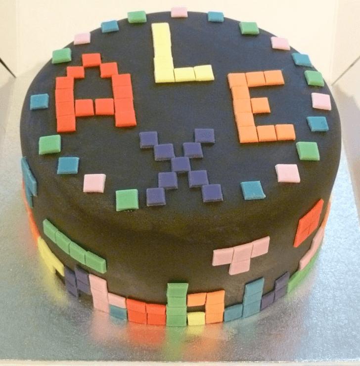 Dazzling Tetris Cake