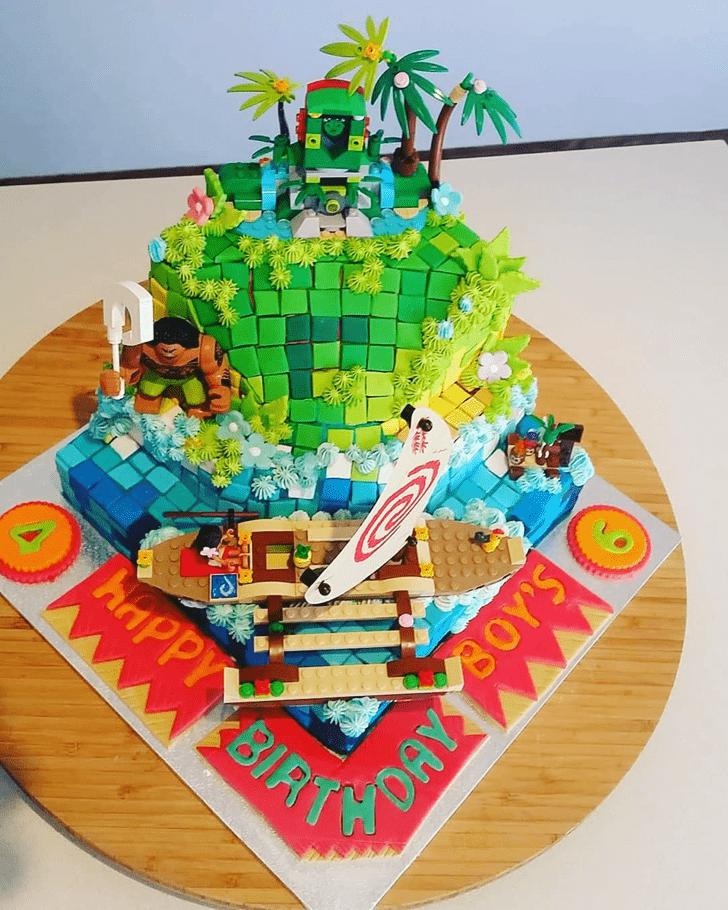 Delightful Tetris Cake